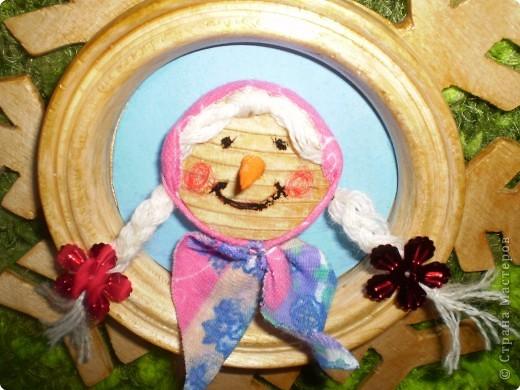 Снежинка - рамка фото 3