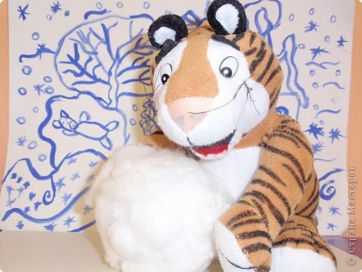 С Новым 2010 годом! В полосатый год тигра желаю, чтобы в вашей жизни не было ни одной черной полосы! фото 4