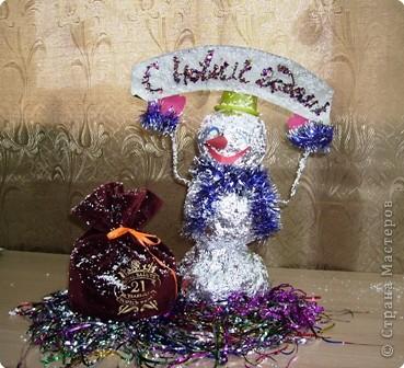 Славный снеговик