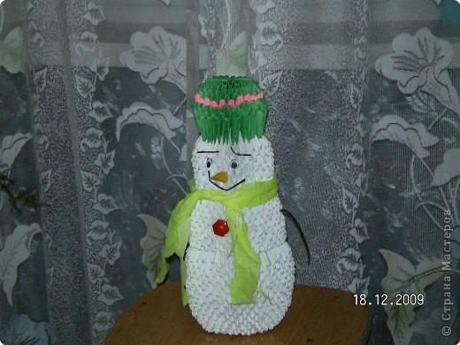 веселый снеговик фото 1