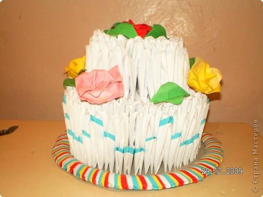 Полезный тортик фото 1