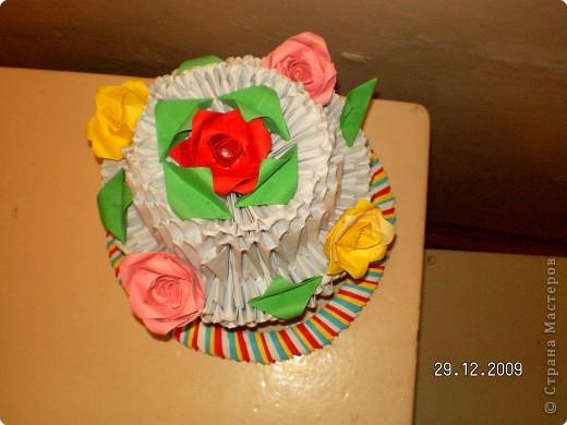 Полезный тортик фото 2
