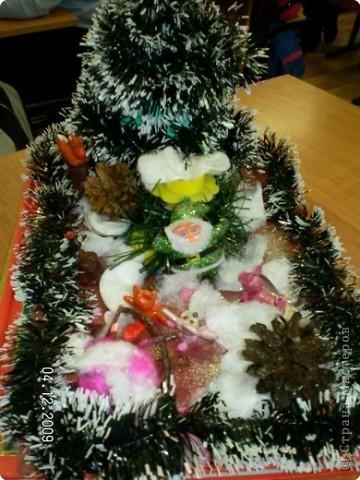 На волшебной полянке у Деда Мороза