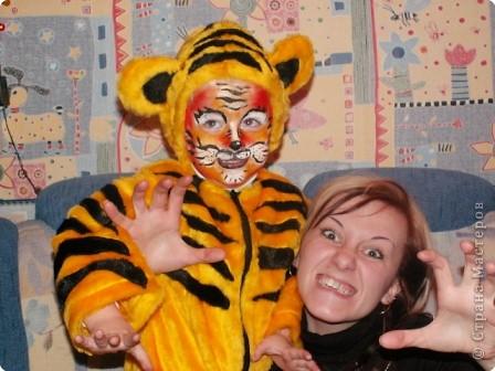 Портрет тигренка фото 3