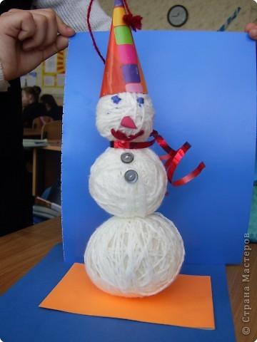 Снеговичок Тимка
