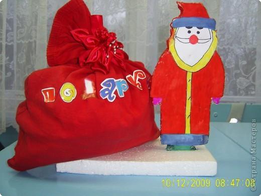 Работа выполнена  в подарок всему классу. Это часть новогодней экспозиции для украшения класса к Новому году. фото 1