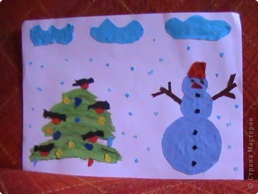 Снеговик на дворе