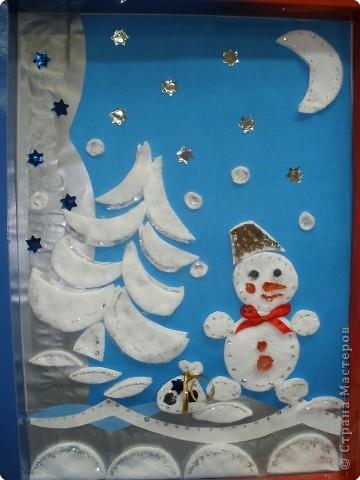 Жил-был снеговик