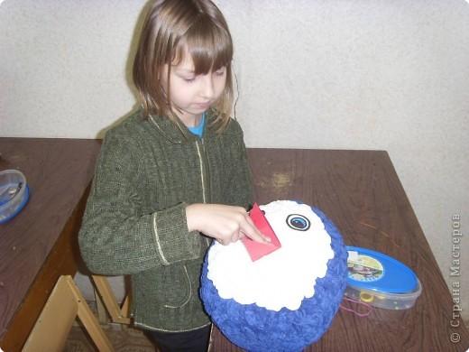 Игрушка снеговик иКак украсить деревянную кормушку для