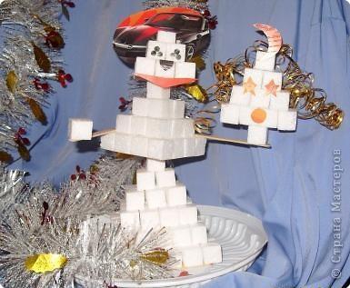 Космический снеговичок