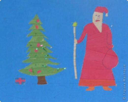 «Дед Мороз и  ёлка».
