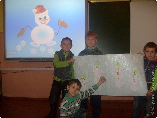 Весёлые снеговички. фото 1