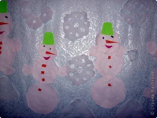 Весёлые снеговички. фото 2