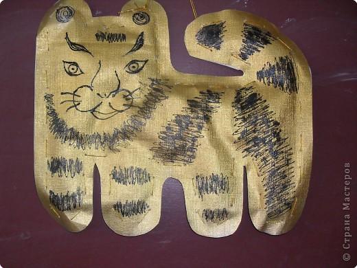 Золотистый тигренок фото 2