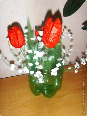 Тюльпаны в вазе фото 1