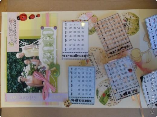 открытка- календарь фото 3