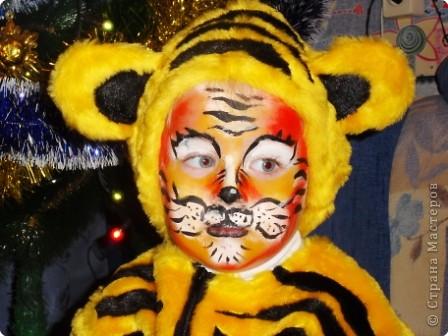 Портрет тигренка фото 1