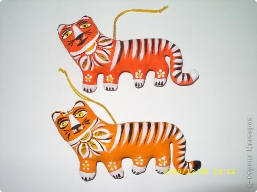 """Этих тигрят я сделала своим коллегам. педагогам школы художественного развития и дизайна """"КВАНТО"""" фото 1"""