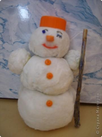 Пусть этот снеговик принесёт удачу в каждый дом!