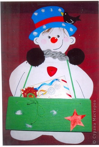 Снеговик Андрейка