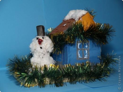 Снеговик ждёт гостей! фото 2