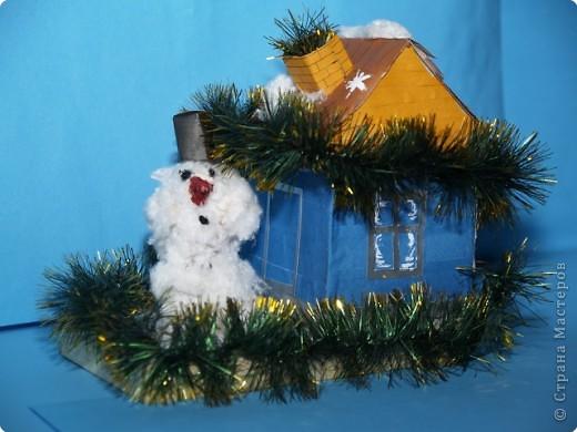 Снеговик ждёт гостей! фото 1