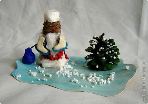 Дед Мороз - фигурист