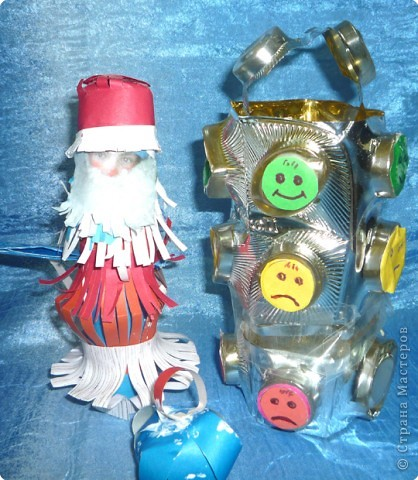 Дед Мороз и светофор