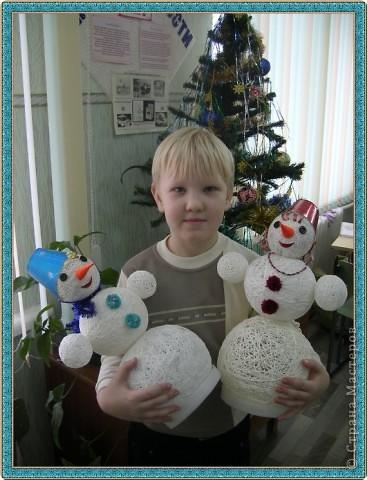 Снеговик и Снежанна. фото 2