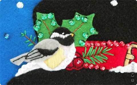 Снеговик для подарков.  фото 2