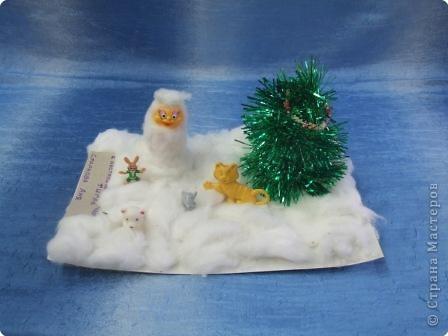 Снеговичок и его верные друзья