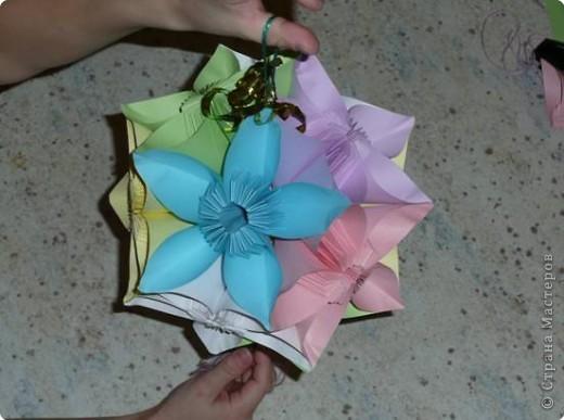 шар из цветов фото 1