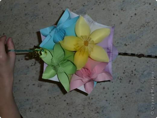 шар из цветов фото 2
