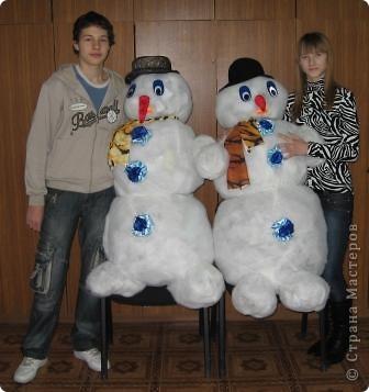 Весёлые снеговики. фото 3