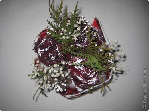 Цветы под снегом фото 2