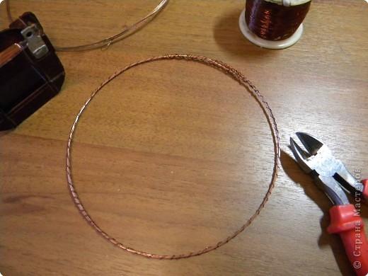 Такой вот простой и незатейливый веночек. фото 5