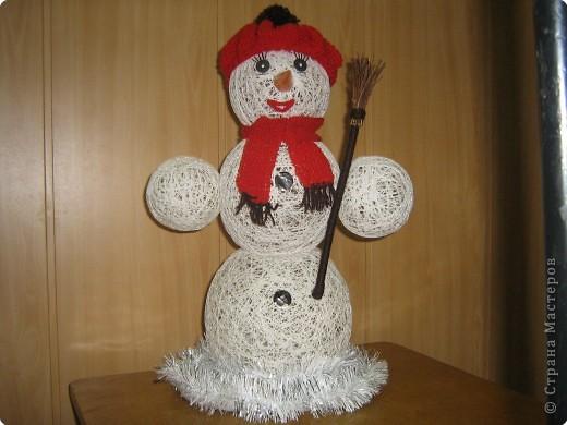 Новогоднее поздравление снеговика Гоши.