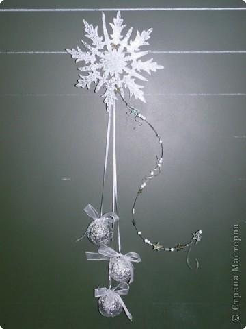 новогодняя снежинка- фантазия