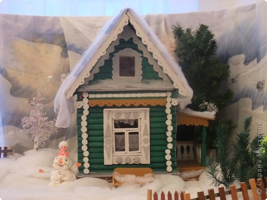 Домик для дед мороза - Письмо подарок от Деда Мороза Дед Мороз