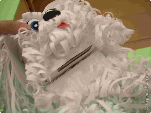 Щенок Снежок - копилка фото 5