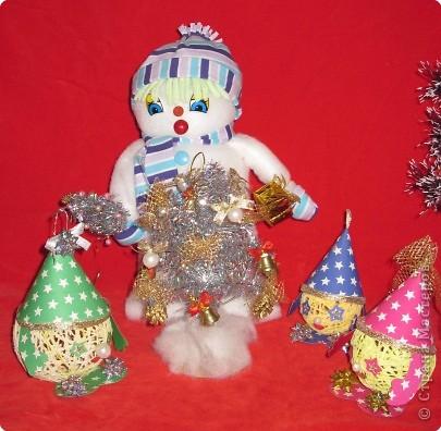 Снеговик и его друзья звездочеты. фото 1