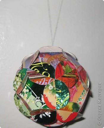 Этот шар волшебный на елочку повесим, будет елка рада и ребятам весело!!!