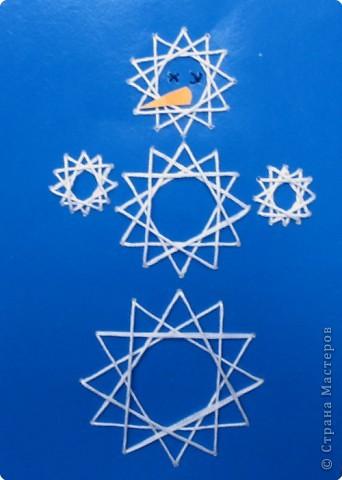 "открытка ""Снеговик"""