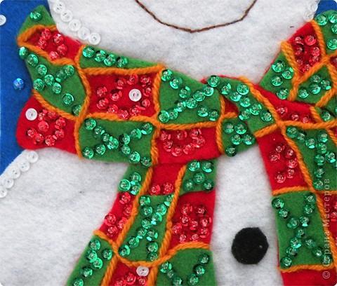 Снеговик для подарков.  фото 3
