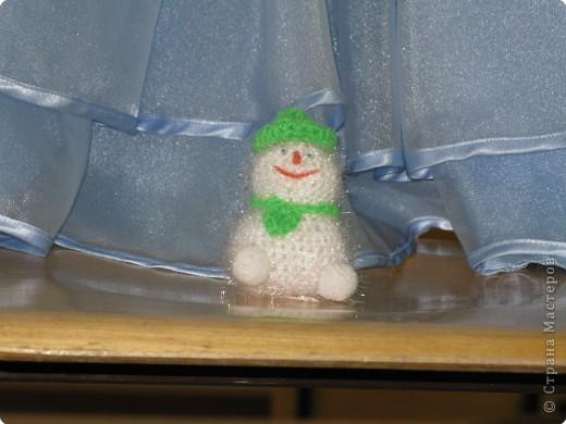 Теплый Снеговичок