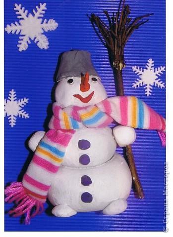 Любимый снеговичок.