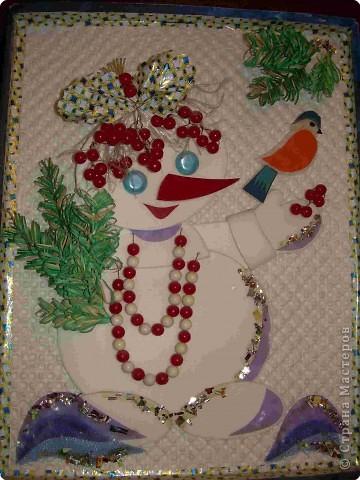 подружка снеговика Бусинка фото 1