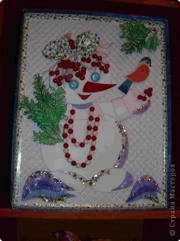 подружка снеговика Бусинка фото 2