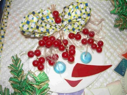 подружка снеговика Бусинка фото 3