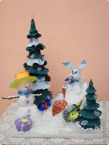 Снеговичок и его друзья